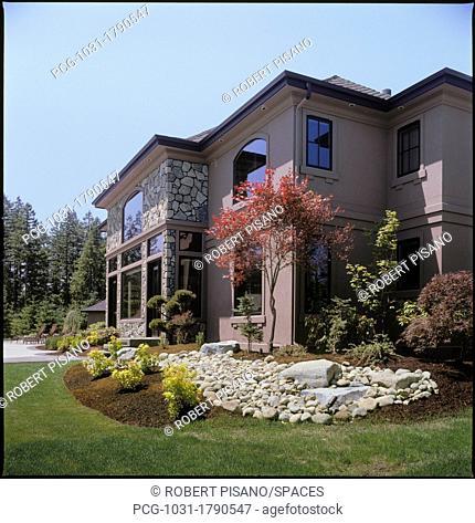 Large, Modern Home