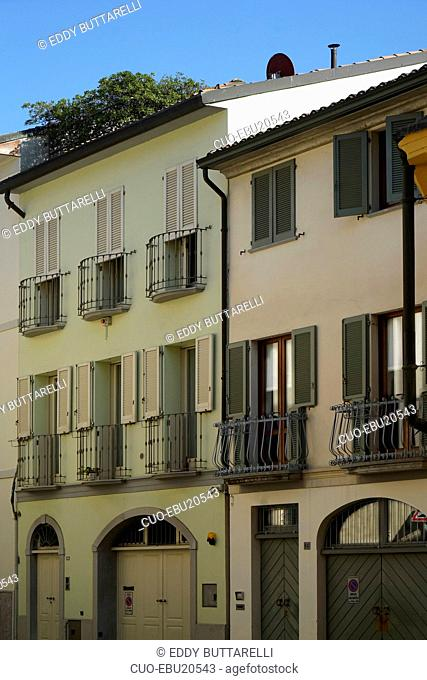 Historical center, Crema, Lombardy, Italy, Europe