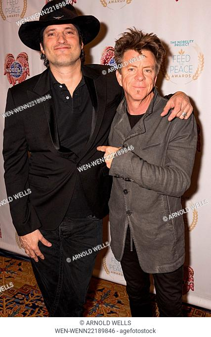 Feed the Peace Awards at the Four Seasons Austin honoring Kyle Chandler and Steven Van Zandt Featuring: Robert Rodriguez, Chris Layton Where: Austin, Texas