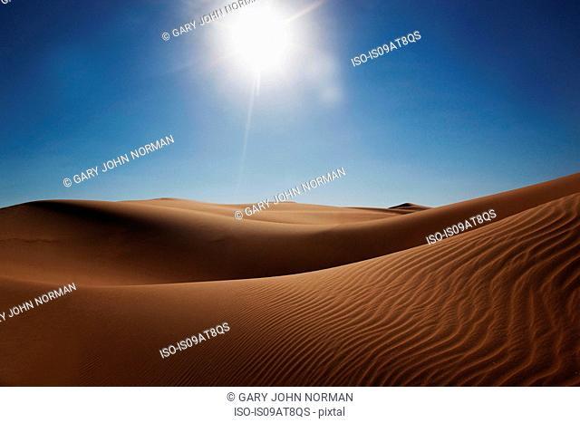 Sand dunes, Liwa Oasis, Abu Dhabi, UAE