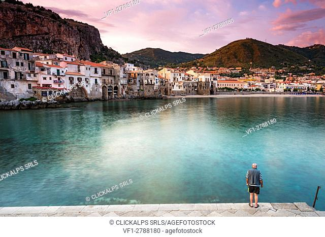 Cefalù, Palermo province, Sicily, Italy