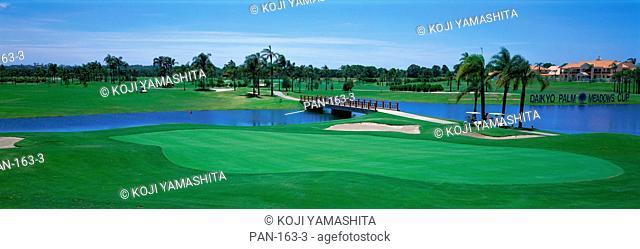 Golf course, Gold Coast, Queensland, Australia, No Release