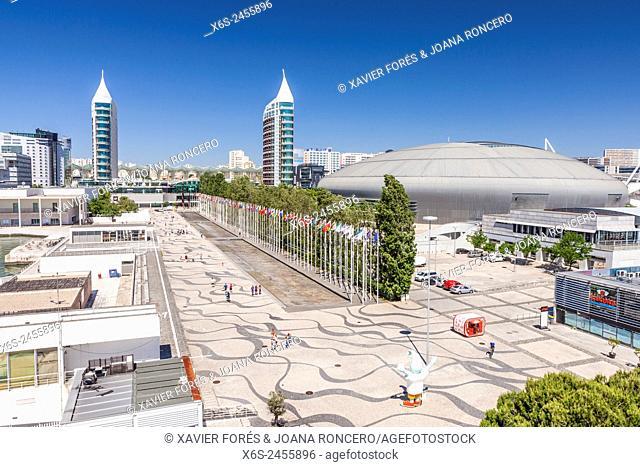 Parque das Nações - Park of the Nations -, Lisboa, Portugal