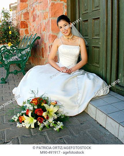 Bride. Chihuahua, Mexico