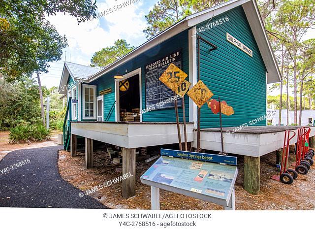 Historic Heritage Village in Pinellas County in Largo Florida