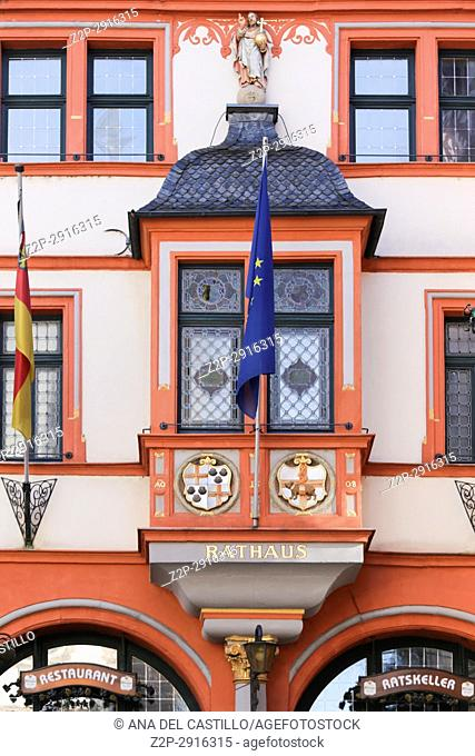 Bernkastel-Kues - town in Rhineland-Palatinate region of Germany. City hall building