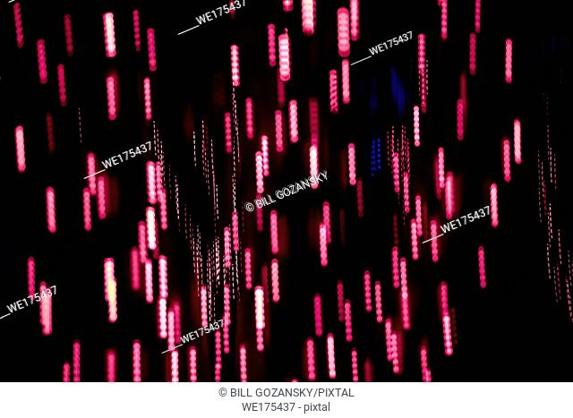 Abstract Light Pattern Background - Asheville, North Carolina, USA