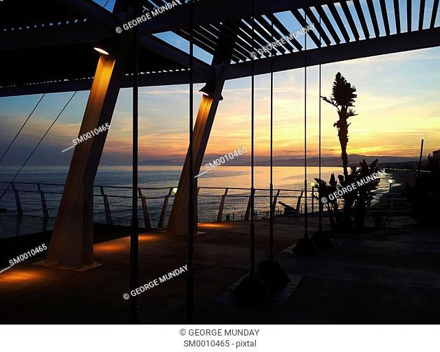 The Balcon and Seafront at Torrox Costa, Costa del Sol, Malaga, Spain