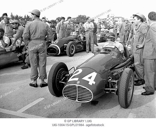 Italian GP at Modena, 1953