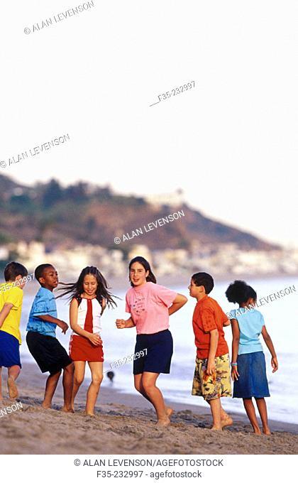 Kids in Malibu