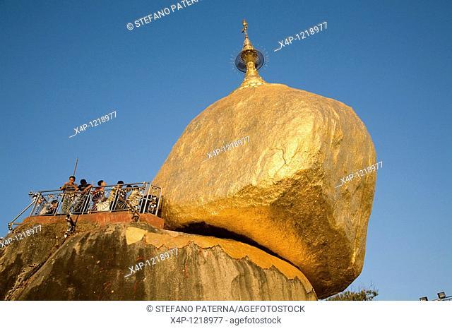 Golden Rock, Kyaikto. Myanmar