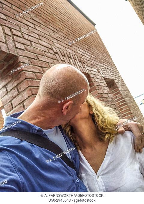 STOCKHOLM, SWEDEN A loving kiss
