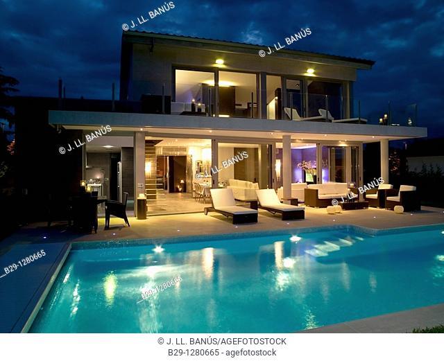 Interior design, terrace