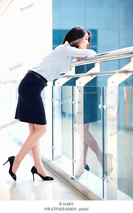 Portrait Of Asian Businesswoman