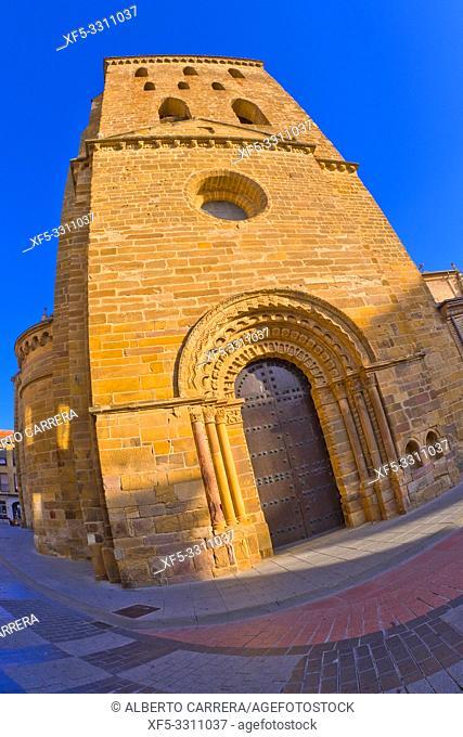 Church of Santa María del Azogue, 11-16th Century, Benavente, Zamora, Castilla y León, Spain, Europe