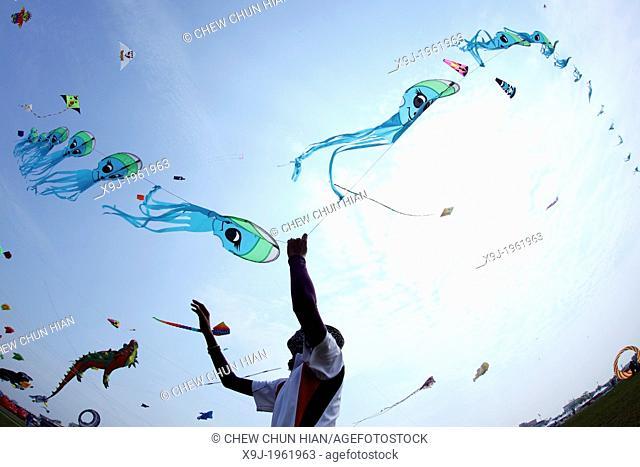 International Kite Festival in Bintulu, Sarawak, Malaysia, Borneo