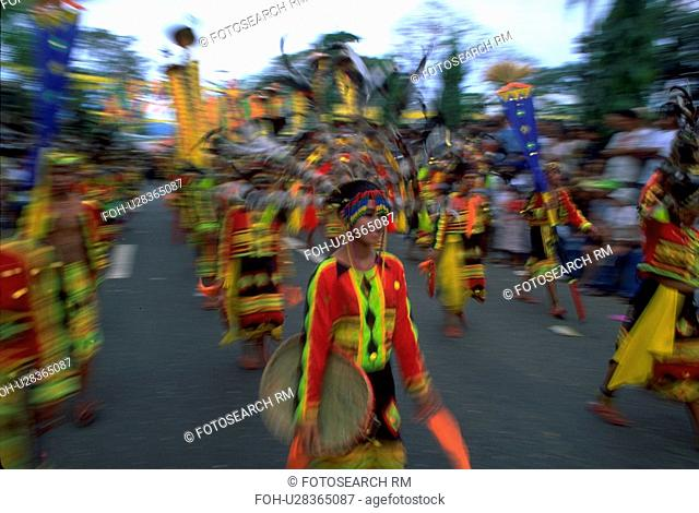 sinulog, party, parade, female, girl, woman