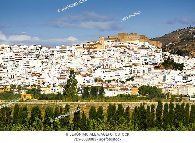 Salobreña. Costa Tropical, Granada Province. Andalusia, Southern Spain Europe