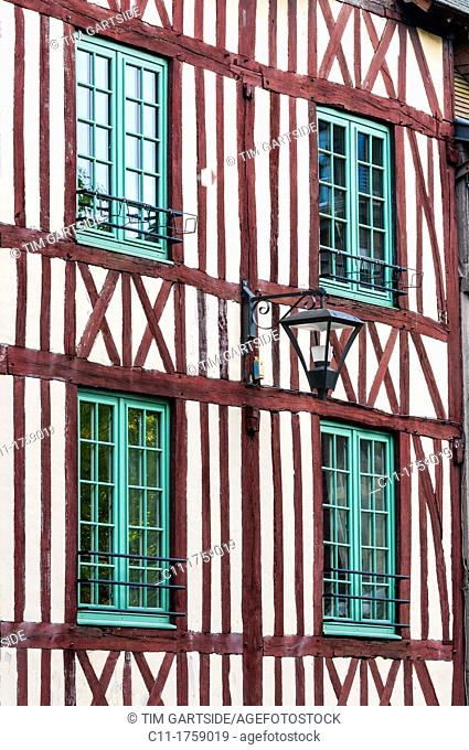 Rue Martainville, Rouen, France , Europe