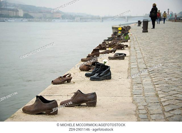 Shoes on the Danube is one of Budapest's most affecting memorials