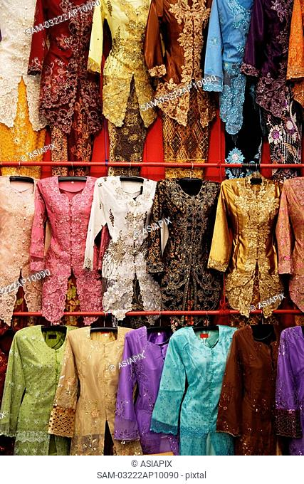 Traditional Malaysian attire for women, baju kebaya