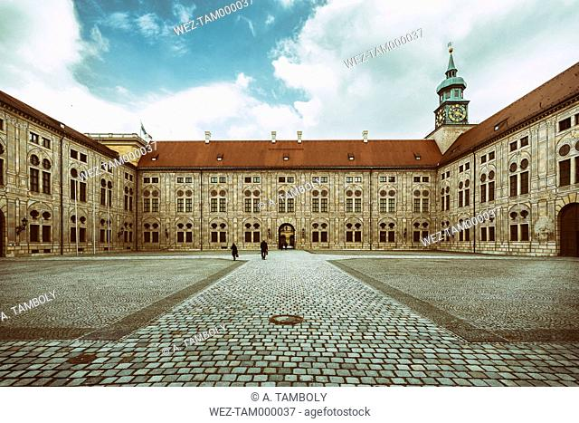 Germany, Munich, Munich Residenz, museum complex in an old royal residence