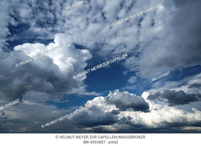 Cloud formations, Bavaria, Germany
