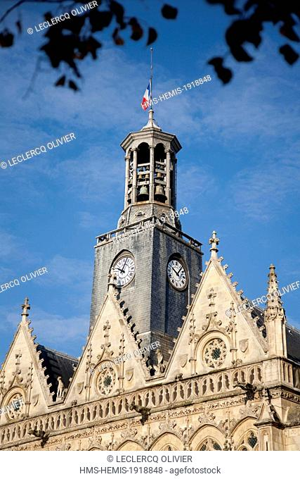 France, Aisne, Saint Quentin, Campanile Hotel City