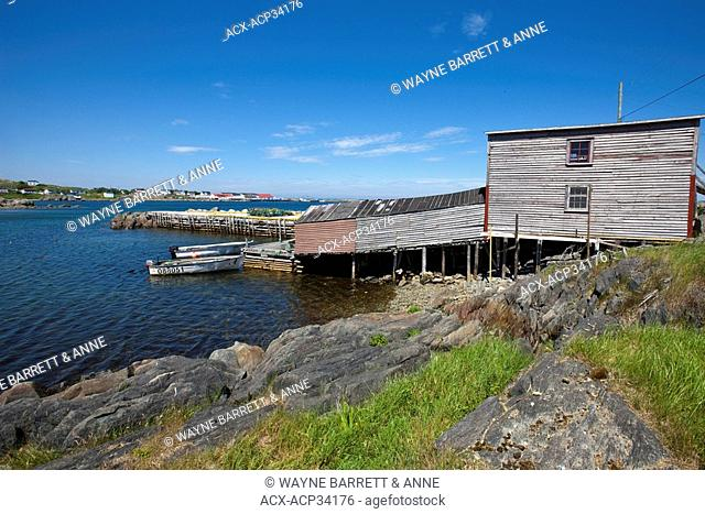 Custard Head Fishing Premises, Hant's Cove, Newfoundland and Labrador, Canada