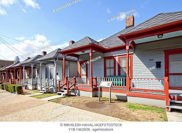 Double Shotgun row houses, Atlanta