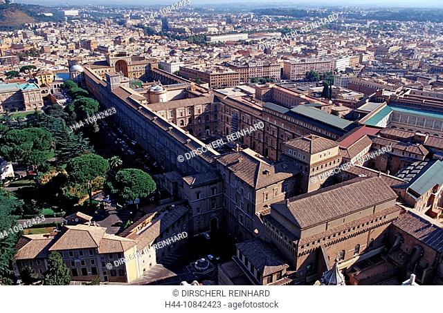 Italy, Europe, Rome, Vatican city, Sistine Chapel, museums, capital, grave church, church, building, place of interest
