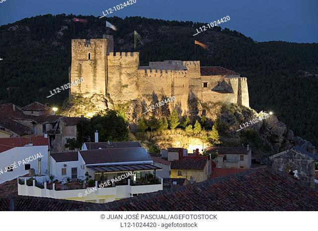 Castle, Yeste, Albacete province, Castilla la Mancha, Spain
