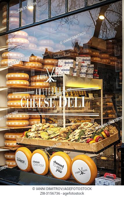 Netherlands,Amsterdam-Cheese Deli