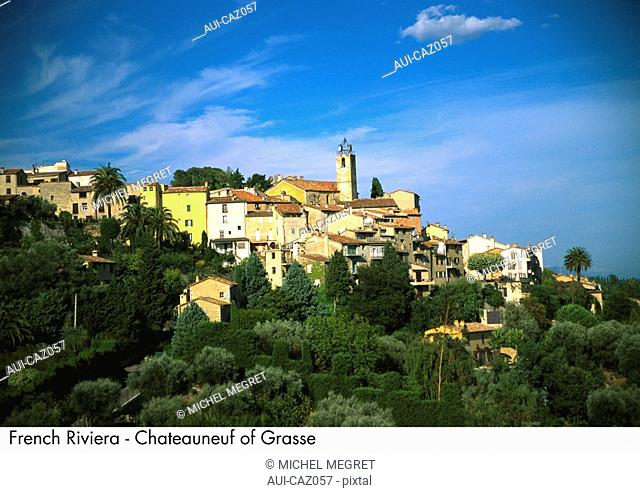 French Riviera - Chateauneuf of Grasse