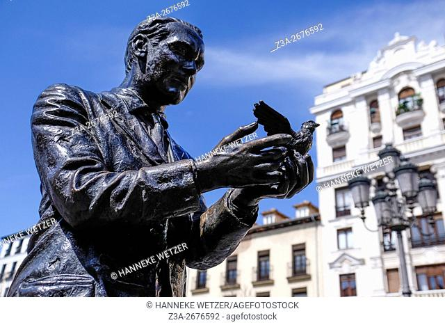 Sculpture in Madrid, Spain, Europe