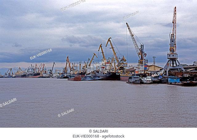 Seaport of Hai Phòng or Haïphong,Vietnam