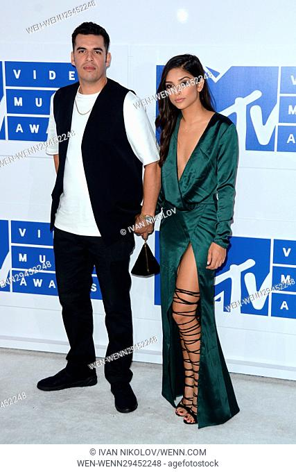 Emil Nava (left) and guest attending the MTV Video Music Awards 2016 at the Madison Square Garden in New York City. Featuring: Emil Nava Where: New York
