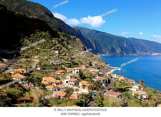 homes at Ponta Delgada, Madeira, Portugal, Europe