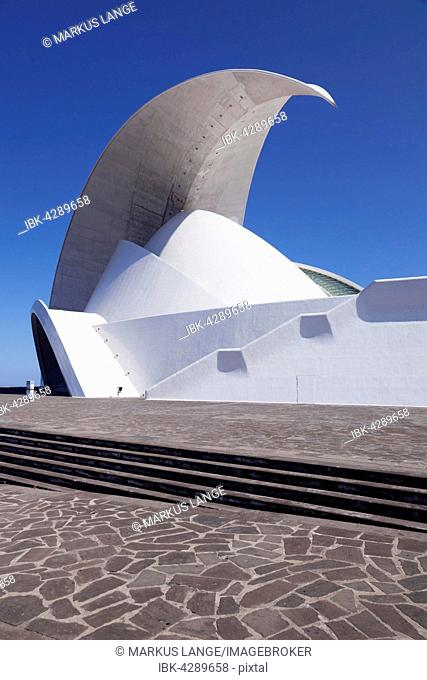 Auditorium Auditorio de Tenerife, Santa Cruz Island, Tenerife, Canary Islands, Spain
