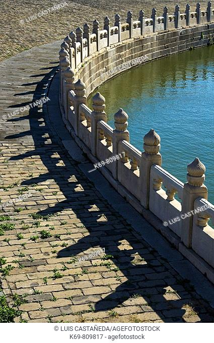 Fence  The Forbidden City  Beijing  P R  of China