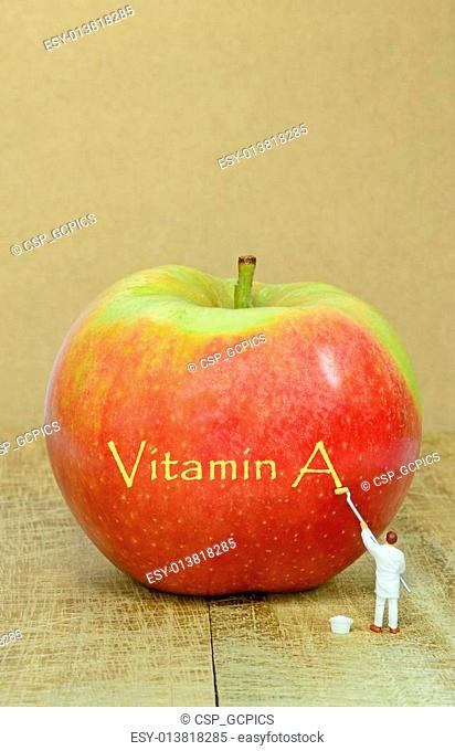 Apple and vitamin A
