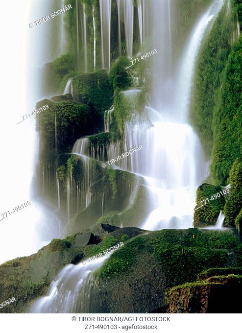 Iguazu National Park Falls. Argentinian side, Misiones province, Argentina