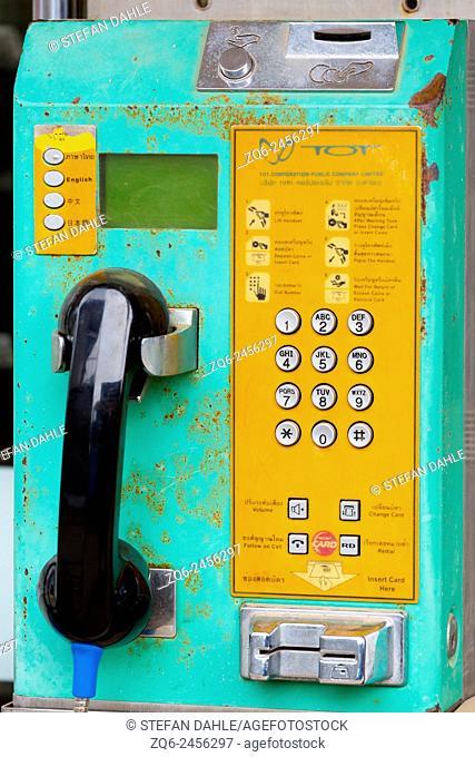 Public Phone on Ko Chang, Thailand