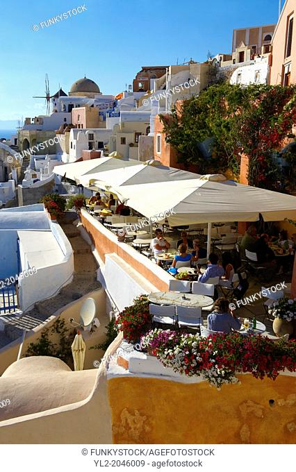 oia Ia Santorini Town- Greek Cyclades islands