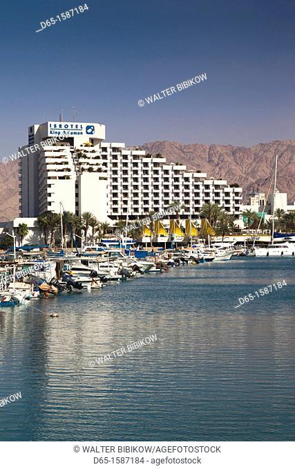 Israel, The Negev, Eilat, hotels around the lagoon