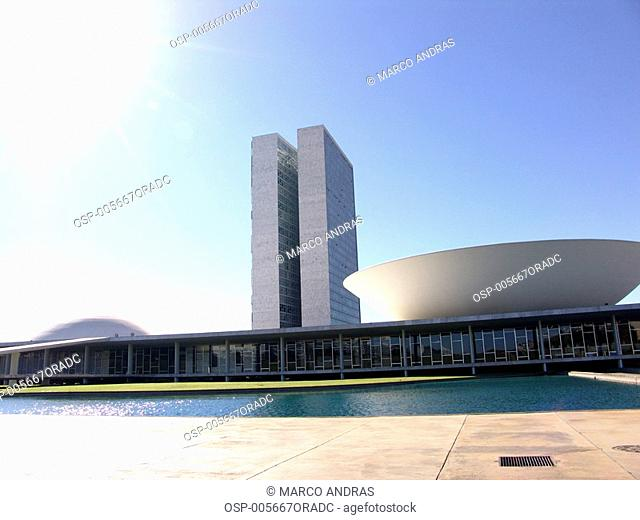 a national congress building architecture of brasilia
