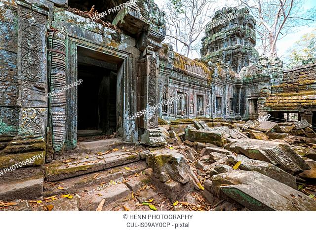 Ta Prohm temple close to Angkor Wat, Siem Reap, Cambodia