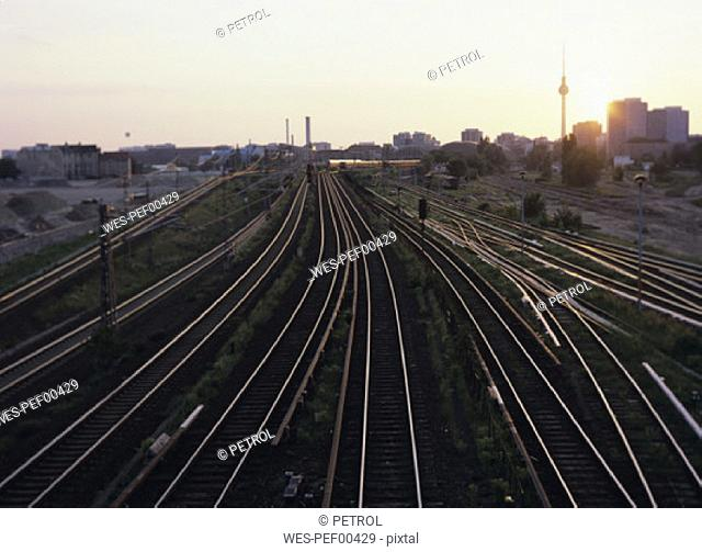 Railways, Berlin, Germany