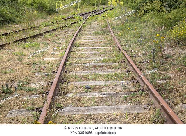 Abandoned Railway Track, Malmo, Sweden