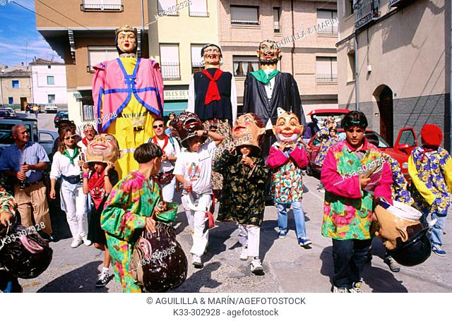 'Encierros'. Cuellar. Segovia province. Castilla-La Mancha. Spain